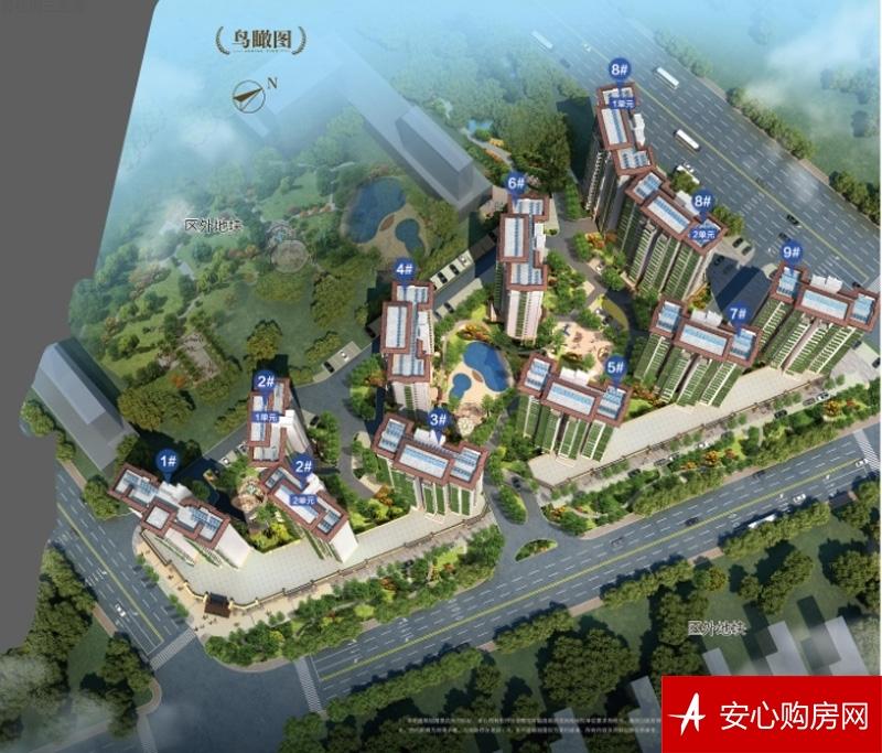 碧桂园三亚海全景图