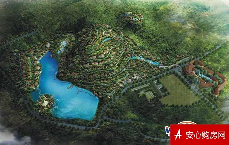 那香山全景图