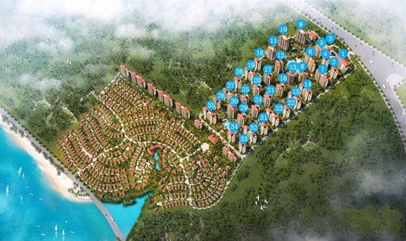 海湾雨林全景图
